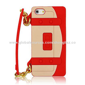 China Channel Silicone Cases For Iphone 5 5s Durable And Lightweight Handle Chain Fashion Design On Global Sources