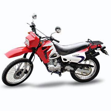 125cc Motorcycle with 95kph Maximum Speed, Available in