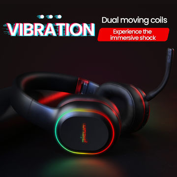 China Over Ear Bluetooth Headphones Wireless Vibration Stereo Gaming Headsets With Mic On Global Sources