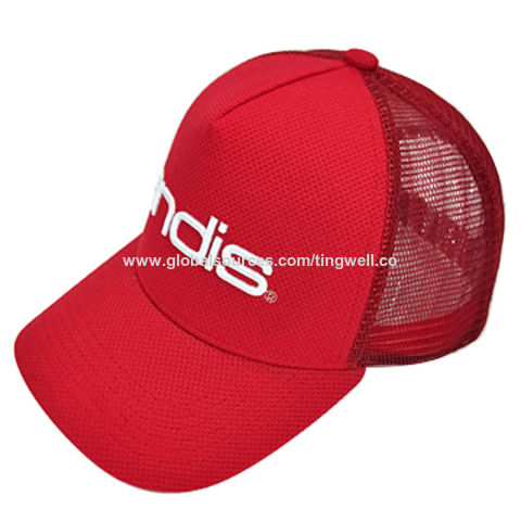 5da90c15 China Wholesale New design 5 Panel Blank Baseball Cap with structured Front  &Trucker ...