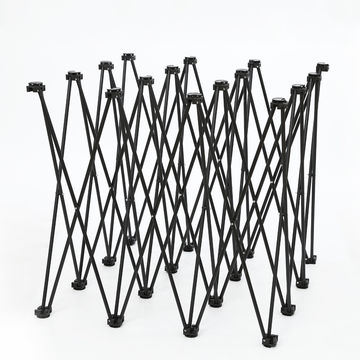 Foldable 3*3 Weeding Metal Custom POP UP Backdrop Stand