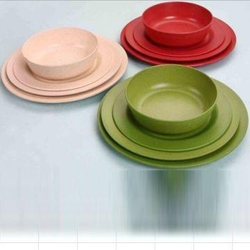 ... China Bamboo fibre biodegradable and eco friendly dinnerware set & Bamboo fibre biodegradable and eco friendly dinnerware set | Global ...