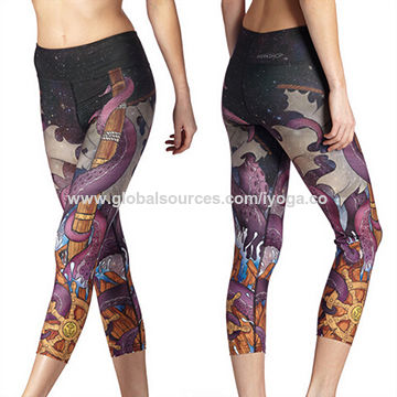4d59a3bf50 China Wholesale Custom Sublimation Women Yoga Leggings on Global Sources