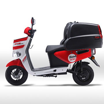 china pizza lithium delivery electric scooter from taizhou trading