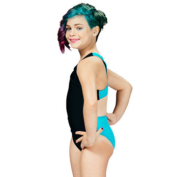740ef673d8 China Competition swimwear, girls performance swim Xtra life Lycra, wide  Y-back swimsuit ...