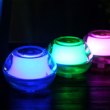 China Fine mist with crystal LED light eliminate static electricity ultrasonic USB humidifier