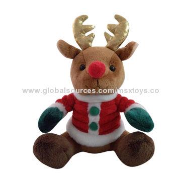 china christmas plush toys davids deer toy - Christmas Plush Toys