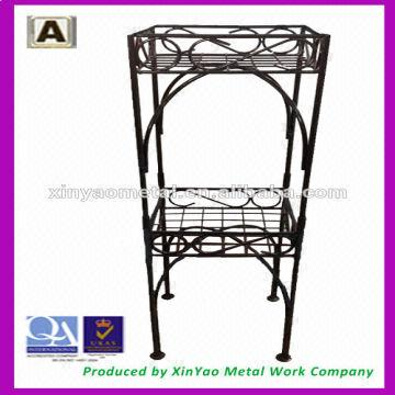 Corner Flower Stand Wire Flower Stand Flower Vase Stand In Home And