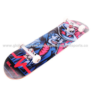 Leef MK skateboard complete for wholesale,100% Canadian maple