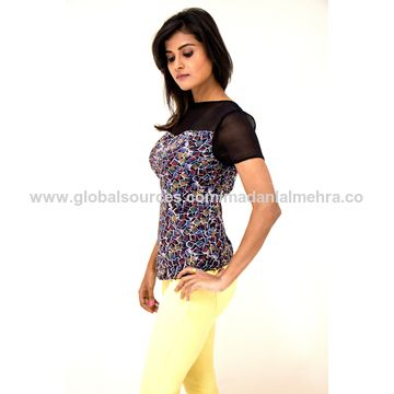 dbc914185842 India Short Sleeve Blouse from Mumbai Manufacturer  M s. Madanlal Mehra