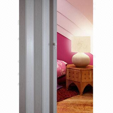 Vera PVC Folding Door, Measures 86x203cm with Magnetic Latch and ...