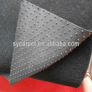 China Nonwoven Needle Felt Car Carpet with Nail Backing