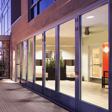 Folding Doors, Double Glazed With Argon Lowe, Made in China to ...