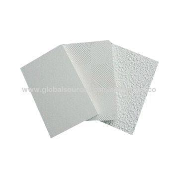 Pvc Gypsum Ceiling Tiles China