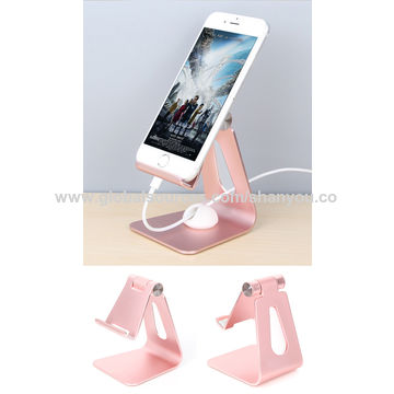 China New products 2017 innovative product metal desk dock mobile phone display
