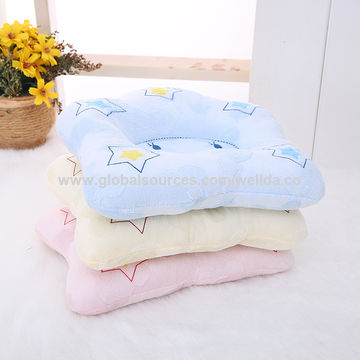 China Soft star baby pillow baby cotton pillow