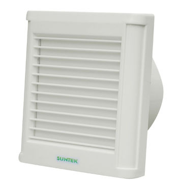 China 4 Inch Louver Bathroom Exhaust Fan With Pull Cord, Full Plastic,  Window