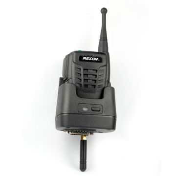 Long-range Wireless Microphone with IP55 Waterproof Design, Can be Used with All Mobile Radios