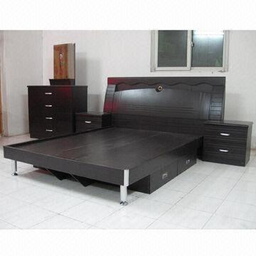 Bedroom Set, 1,500 x 1,900mm, Available in Black Walnut Color, Made ...