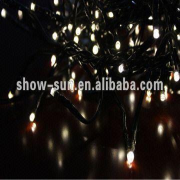 China 384 LED Cluster Lights 2.3m LED Christmas Lights Wholesale
