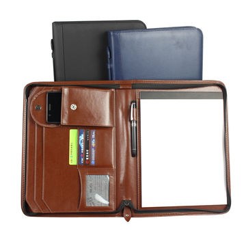 China Synthetic Leather Briefcase,cards pockets and pockets for mobile