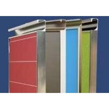 Decorative metal kitchen cabinet doors brushed metal for Brushed aluminum kitchen cabinets