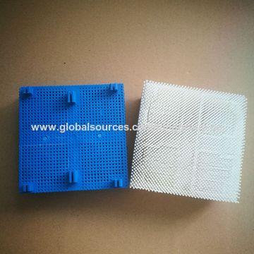"China Bristle, Block, Blue, 4X4, 1.03"", S32 Part#: 96386003 for Gerber GT3250 GT1000"