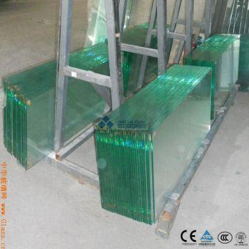 China 3mm 4mm 5mm Clear Tempered Gl Panel
