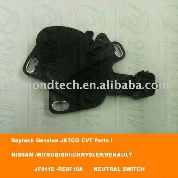china re0f10a/jf011e/cvt parts neutral switch(nissan/mitsubishi/chrysler/