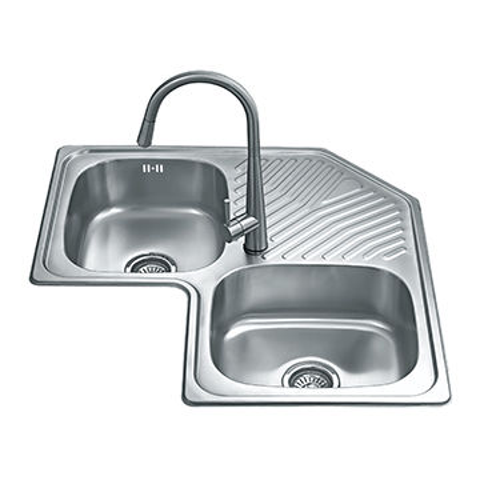 China Double Bowl Corner Welding Kitchen Sink On Global Sources Double Sink Welding Sink Kitchen Sink