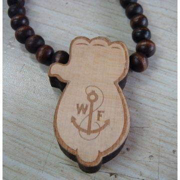 China Wood necklace