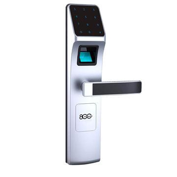Fingerprint key code door lock, suitable for wood door,metal door ...