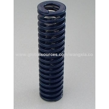 Die Springs, with Flat Wire Mold and for Industries, Automotive ...