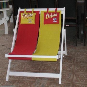 China Double Beach Chair Outdoor Gard