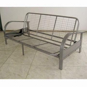China Palermo Futon Frame Made Of Metal S Measuring 80 X 38 5 25