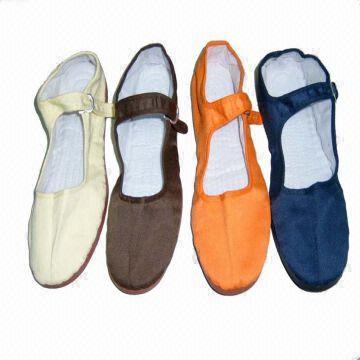 Calzados informales de los zapatos del kung fu de las