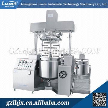 Vacuum homogenizing emulsifier/homogenizer/bar soap making