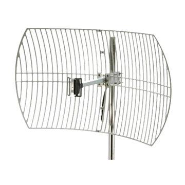 China 2 4G Grid Parabolic Antenna 24dBi with 83MHz Bandwidth