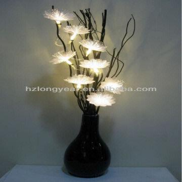 Led Flower Vase Light 1 Beautiful Outlook 2 Battery Operated