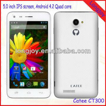 1,City Call Android Phone Catee CT300 2,MTK6582 Quad core 3