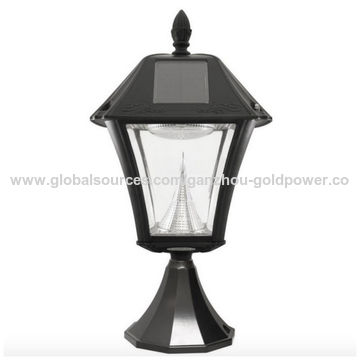 China Solar LED Black Outdoor Smart Street Lamp