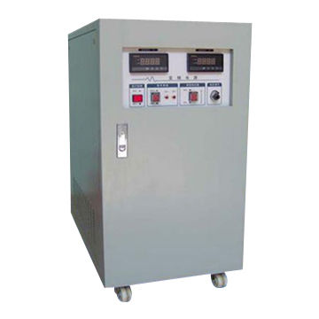 Frequency converter, 115V 400Hz AC power supply, trailer mounted GSE