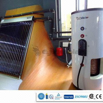 split pressurized solar water heating system in Europe | Global Sources