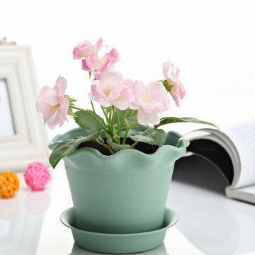 Garden plastic tea cup and saucer flower pot 1.Different colors ...