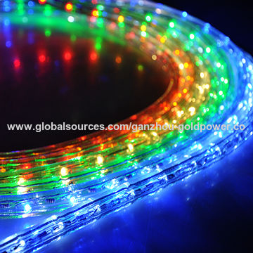 China 50/150' LED Rope Light, 110V for Party Home Christmas Outdoor Xmas Lighting