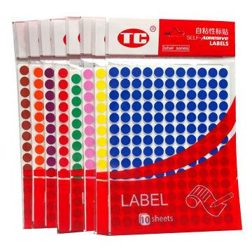 Dot Stickers China Dot Stickers