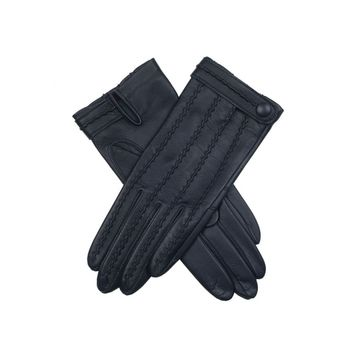China Girls' fashion leather gloves with super soft fleece