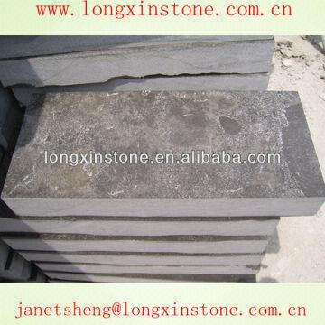 Outdoor Chinese Black Limestone Driveway Paving Tiles China