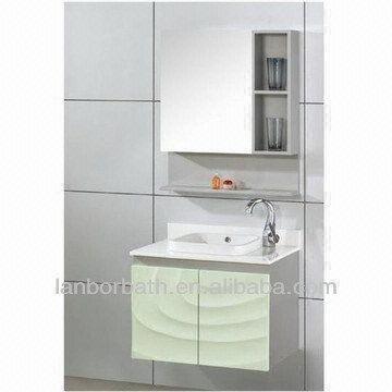 Solid Wood Cabinet 2 Modern Bath