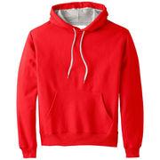 China Men's sports hoodie, navy blue hoodie